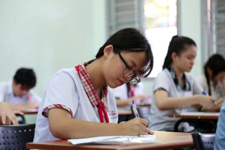 Bài thi thpt quốc gia môn tiếng Anh